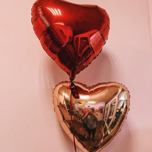 Шар фольгированный «Сердце»