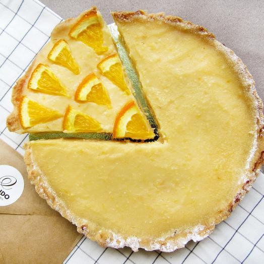 Лимонный пирог (тарт)