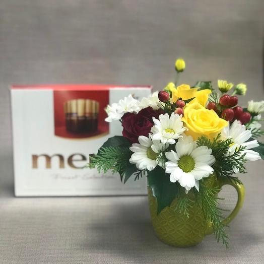 Цветы и шоколад🌹