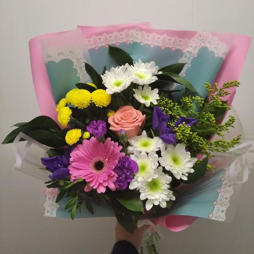 Prefabricated bouquet
