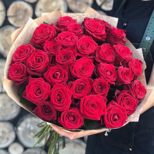 Роза голландская 60см