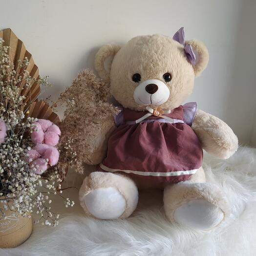 Плюшевый медведь Брусничка