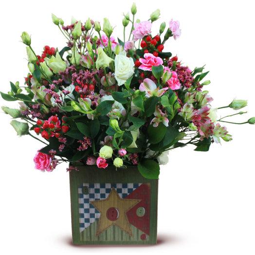 Звезды Ягодки: букеты цветов на заказ Flowwow