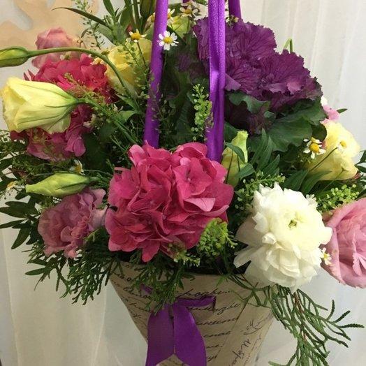 Конус с экзотическими цветами: букеты цветов на заказ Flowwow