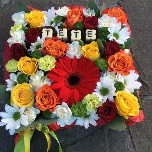 Фруктами цветами, заказать цветов во владикавказ недорого