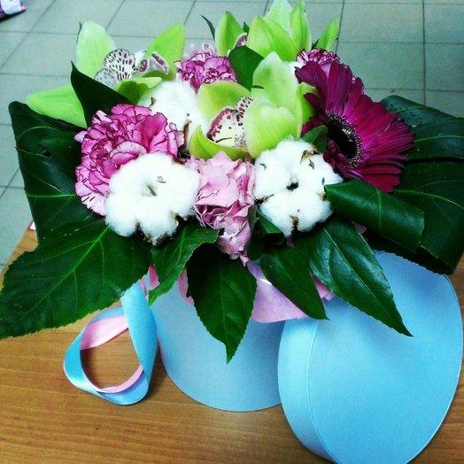 Коробочка Вдохновение: букеты цветов на заказ Flowwow