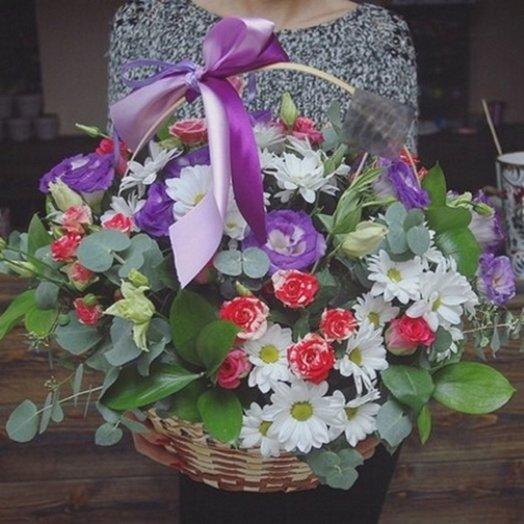 Корзина цветов : букеты цветов на заказ Flowwow