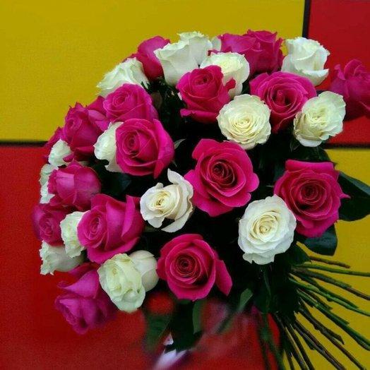 Букет 35 роз: букеты цветов на заказ Flowwow