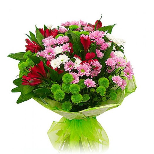Румяная заря: букеты цветов на заказ Flowwow