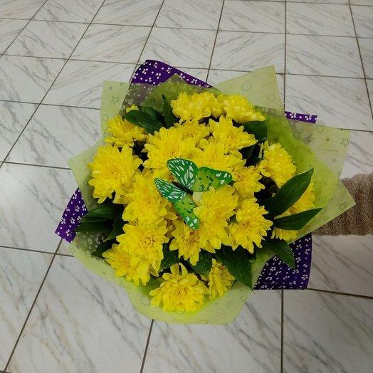 Букет хризантем 2