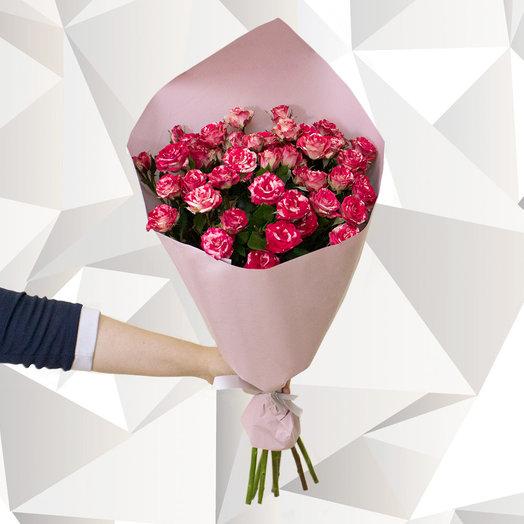 Красная розочка: букеты цветов на заказ Flowwow