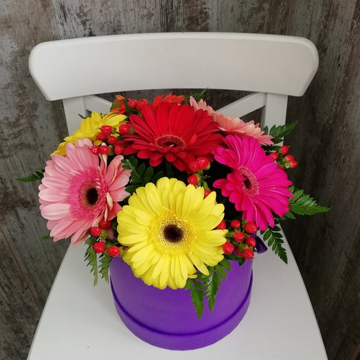 Радужная карамель: букеты цветов на заказ Flowwow
