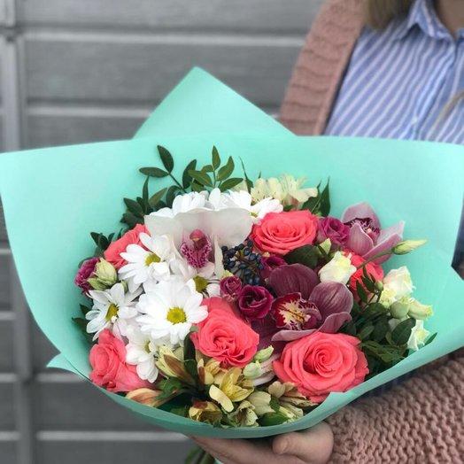 Мятный леденец: букеты цветов на заказ Flowwow