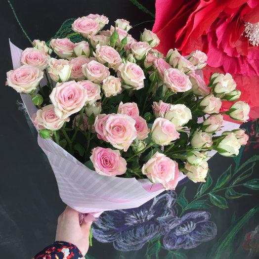 Букет 15 из кустовых роз: букеты цветов на заказ Flowwow