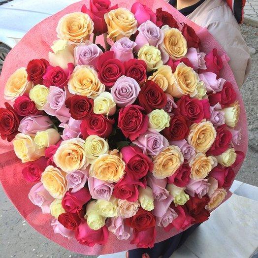 Любовный букет: букеты цветов на заказ Flowwow