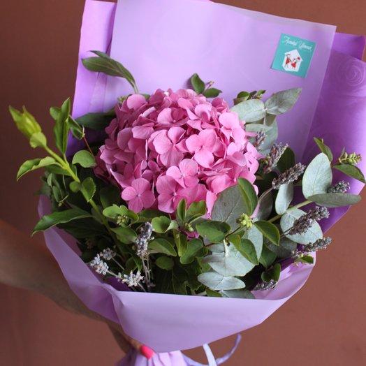 Монобукет гортензия: букеты цветов на заказ Flowwow