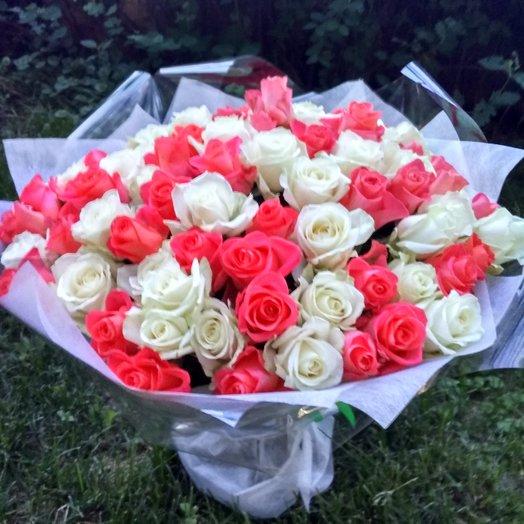 """""""Энергия любви"""": букеты цветов на заказ Flowwow"""