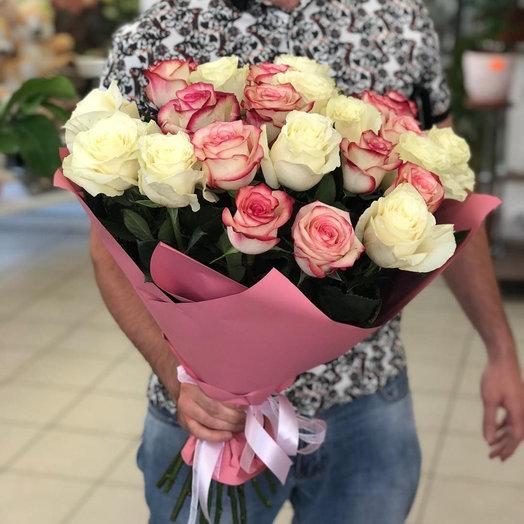 Букет роз Эквадор 21 шт