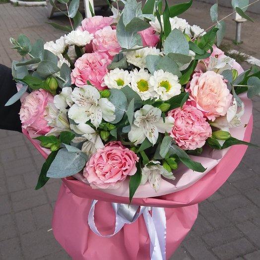 Букет из кружевных роз