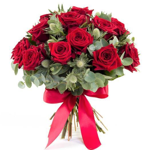 """Букет """"Гранатовый браслет"""": букеты цветов на заказ Flowwow"""