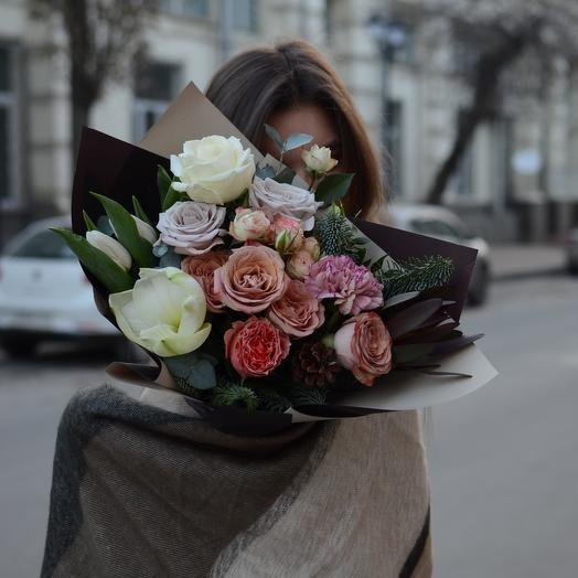 Букет сборный: букеты цветов на заказ Flowwow