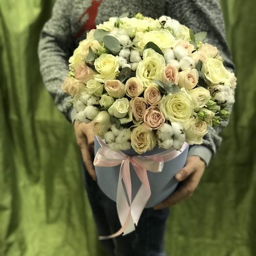 Нежность белого: букеты цветов на заказ Flowwow