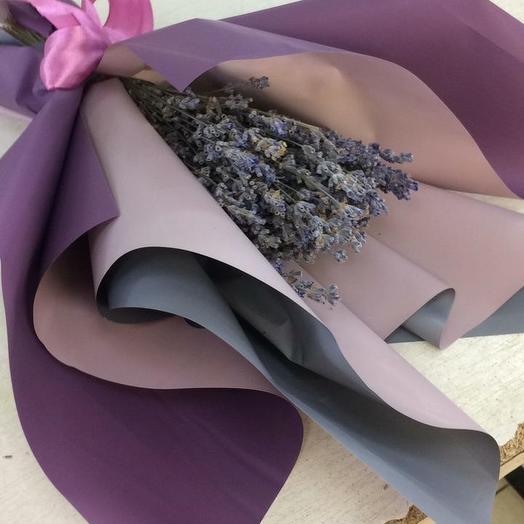 Лаванда сухоцвет: букеты цветов на заказ Flowwow