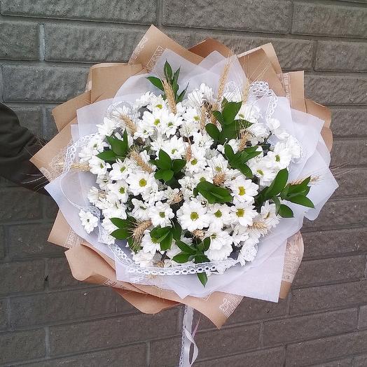 Букет ромашек большой: букеты цветов на заказ Flowwow