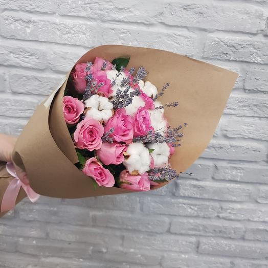 Сухоцвет: букеты цветов на заказ Flowwow