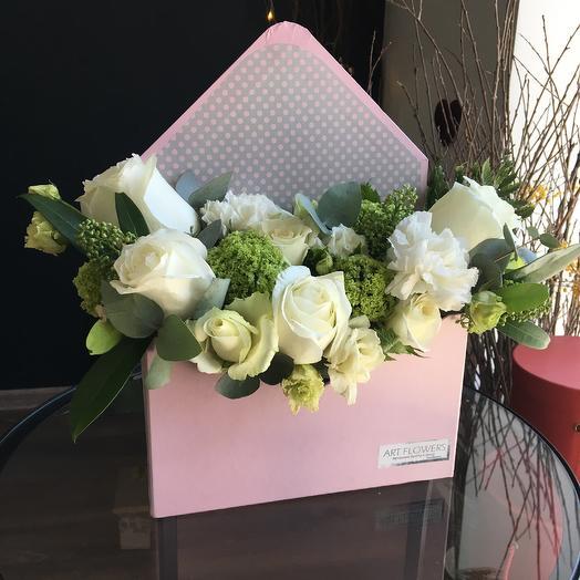 Конверт облаков: букеты цветов на заказ Flowwow