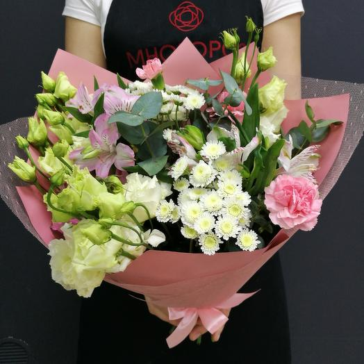 Микс нежности: букеты цветов на заказ Flowwow