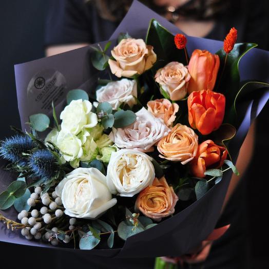 """Авторский букет """"Гармония"""": букеты цветов на заказ Flowwow"""