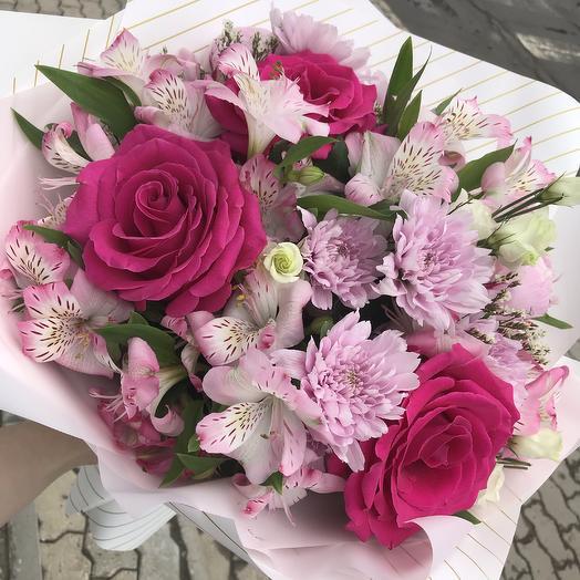 Летняя рапсодия: букеты цветов на заказ Flowwow