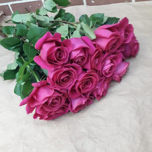 15 роз Эквадор 60 см: букеты цветов на заказ Flowwow