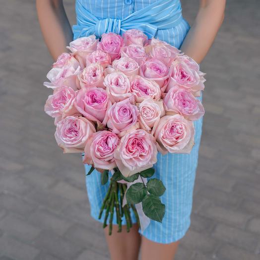 """Букет """"25 Ароматных Роз"""": букеты цветов на заказ Flowwow"""
