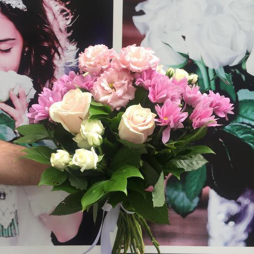 БУКЕТ ОТ СЕРДЦА: букеты цветов на заказ Flowwow