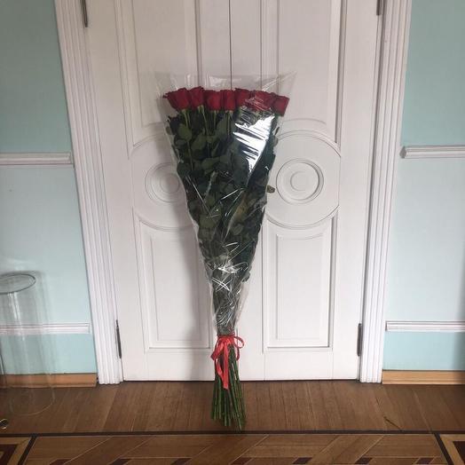 Роза 150 см: букеты цветов на заказ Flowwow