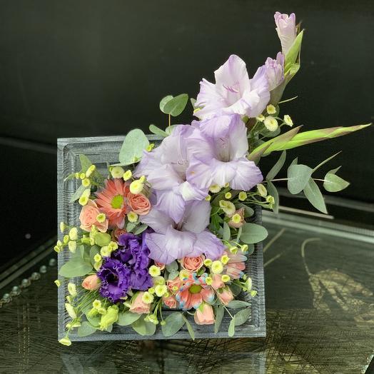 Цветочная рамка «лаванда»: букеты цветов на заказ Flowwow