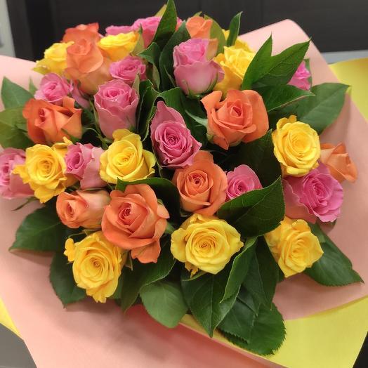 Самой яркой: букеты цветов на заказ Flowwow