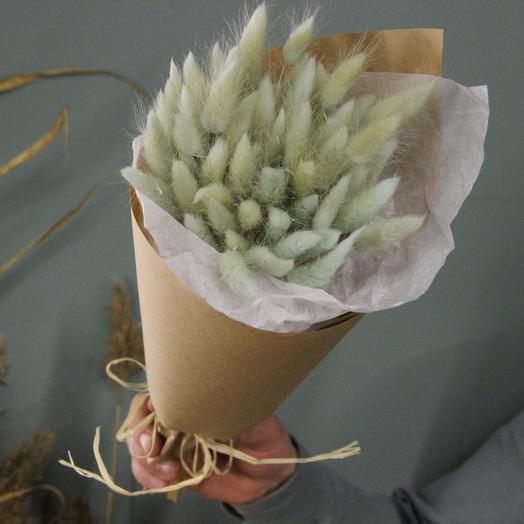Лагурус green tea: букеты цветов на заказ Flowwow