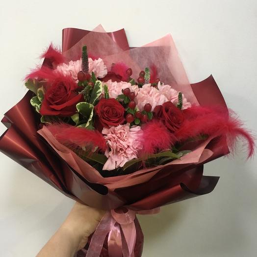 Букет «Пронзительный взгляд»: букеты цветов на заказ Flowwow