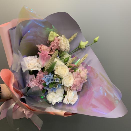 Букет «Свежесть»: букеты цветов на заказ Flowwow
