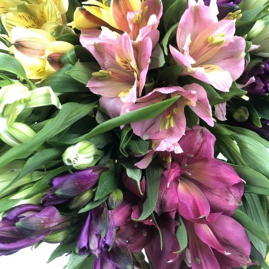 Букет микс Альстромерия: букеты цветов на заказ Flowwow