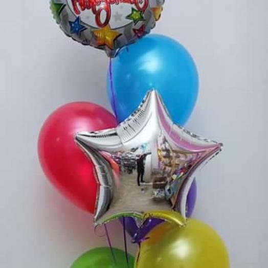 Композиция,,С днём рождения ': букеты цветов на заказ Flowwow