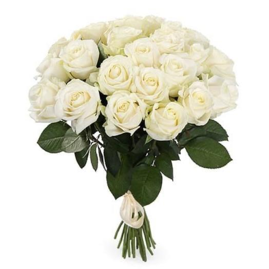 Букет белых роз