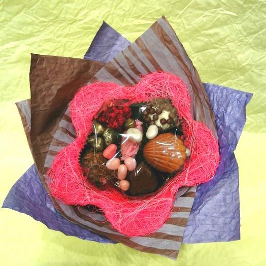 Букет из конфет ручной работы FRENCH KISS SPB 1.4