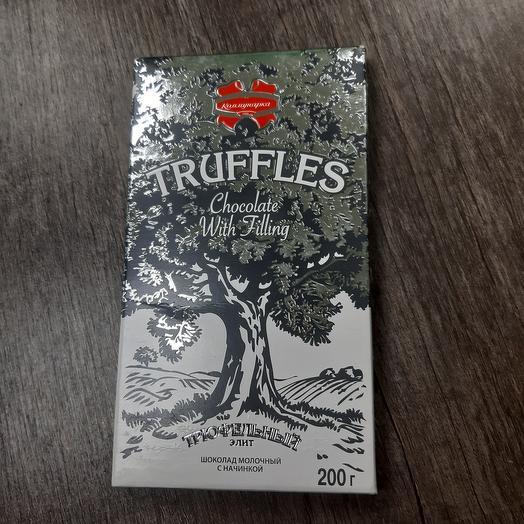 Шоколад трюфельный