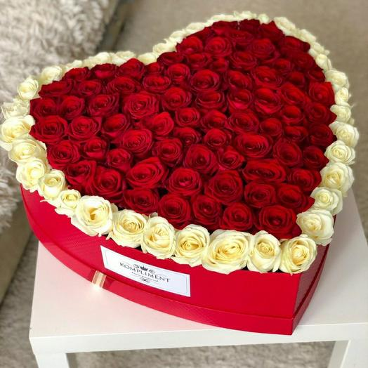 "Bouquet "" Heart of Cupid"""
