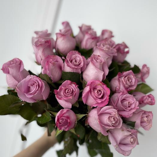 21 лиловая роза
