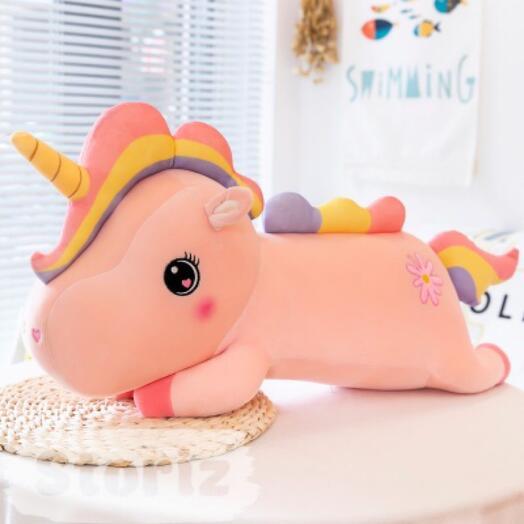 "Мягкая игрушка ""Cute Unicorn"" розовый 60 см"
